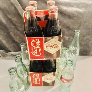 Vintage Coke Bottles 2-4 Pack Circa 1900 for Sale in New Caney, TX
