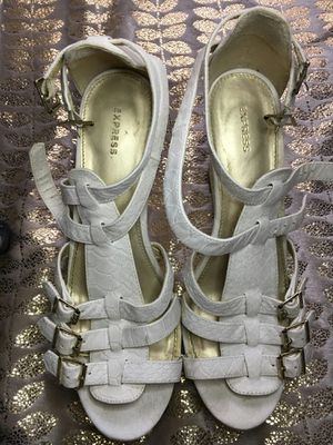 Off-white Express Wedge Heels for Sale in Joliet, IL