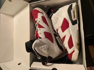 Jordan 6 Carmine for Sale in Levittown, PA
