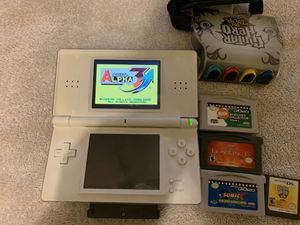 Nintendo DS lite and games for Sale in Huntington Beach, CA