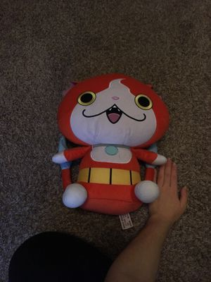 Huge Yokai Watch Jibanyan Plush for Sale in Puyallup, WA