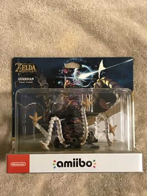 The Legend of Zelda Breath Of The Wild Guardian Amiibo for Sale in Phoenix, AZ