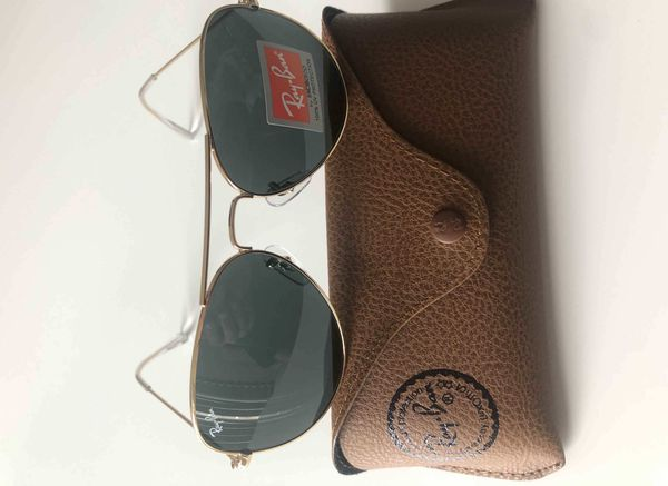 Brand New Authentic RayBan Aviator Sunglasses