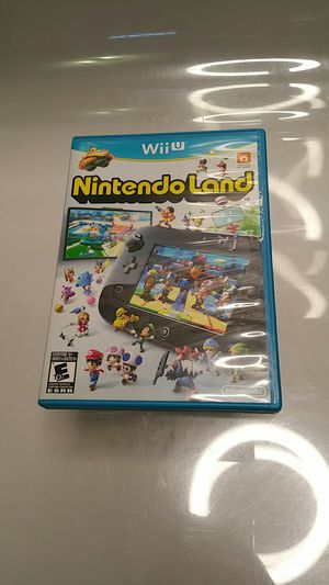 Nintendo Wii U NintendoLand Game for Sale in Mountlake Terrace, WA
