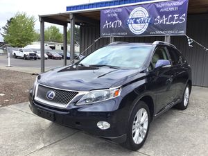 2010 Lexus RX hybrid 450h financing available for Sale in Seattle, WA