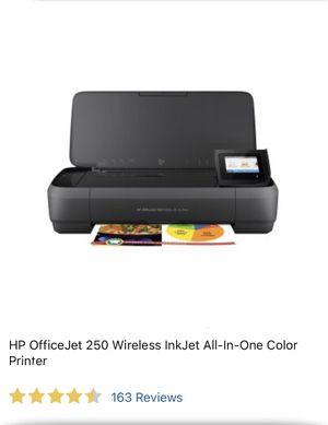 HP OfficeJet 250 wireless Printer for Sale in Lodi, CA