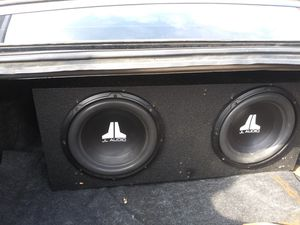 Jl audio 12 en probox for Sale in Baytown, TX