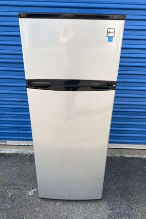 avanti 7.4 cubic refrigerator freezer fridge stainless for Sale in San Diego, CA