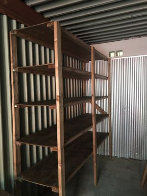 Shelving Units Wood for Sale in Greensboro, NC