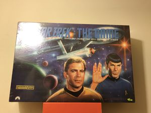 """Star Trek """"The Game"""" Limited Edition Trivia Game Made In Year 1992 By Paramount Pictures Sealed In Plastic New for Sale in Reedley, CA"""