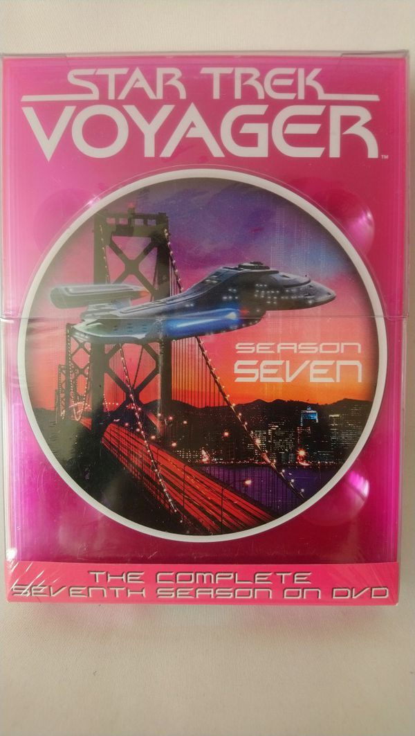 Star Trek Voyager The Complete Seven Season On DVD - Sealed brand new.