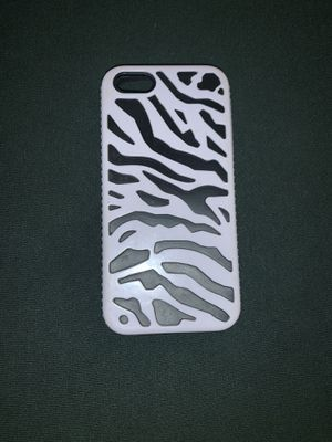 Zebra iPhone 5 case for Sale in Riverside, CA