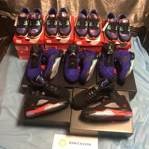 COURT PURPLE 5s AND TOP 3 5s. for Sale in Renton, WA