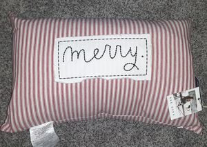 "Rae Dunn ""Merry' Pillow for Sale in Rialto, CA"