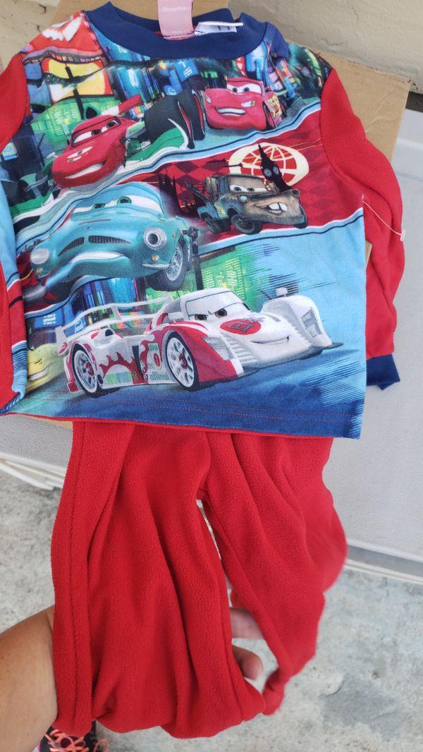 Brand New Disney Cars Boys Pajamas size 4/5