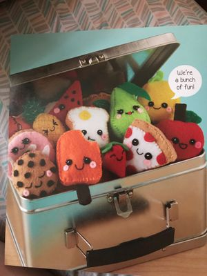 Handmade Felt food plushie from Klutz for Sale in Haverhill, MA