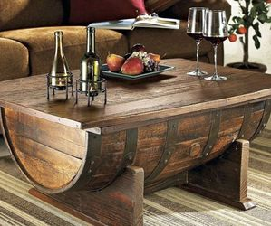 Whiskey Barrel Coffee Table for Sale in San Diego,  CA