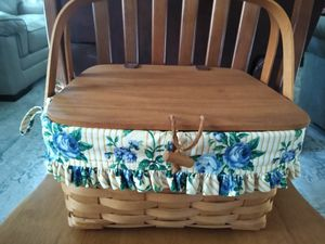 Signed Longaberger Basket for Sale in Safety Harbor, FL