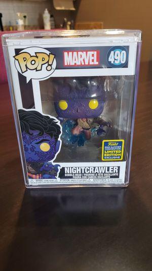 Nightcrawler MINT SDCC 2020 Funko Pop #490 for Sale in Amarillo, TX