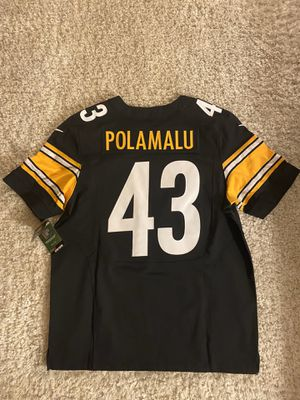 Nike Authentic Troy Polamalu On Field Sewn Steelers Jersey XL 48 - Retail $295 for Sale in Los Angeles, CA