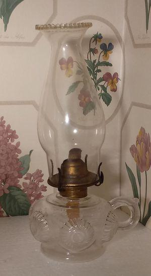 Vintage finger lamp for Sale in Washington, NJ