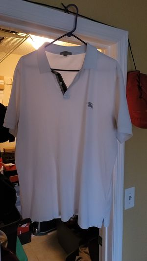 White Burberry Shirt 3x for Sale in St. Petersburg, FL
