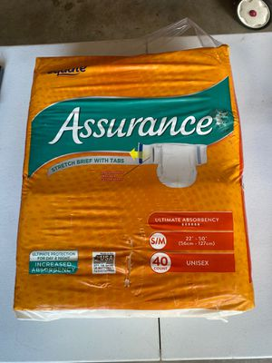 Brand New Adult Diapers for Sale in Fort Worth, TX