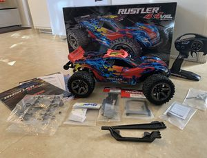TRAXXAS Rustler 4x4 VXL with all accessories and extras Great condition for Sale in Los Angeles, CA