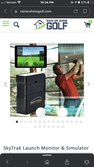 SkyTrak Launch Monitor & Simulator Software Indoor Golf Driving Range for Sale in Washington, DC