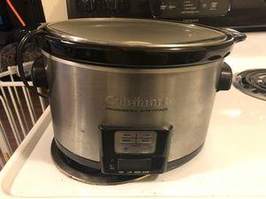 Cuisinart Programmable Slow Cooker for Sale in Seattle, WA