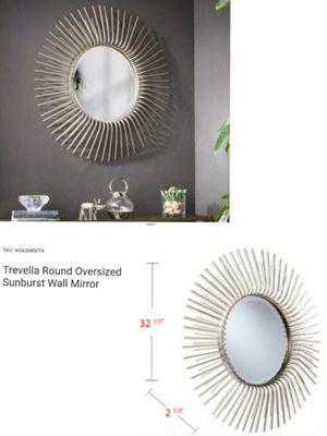 Oversized sunburst wall mirror for Sale in Southaven, MS