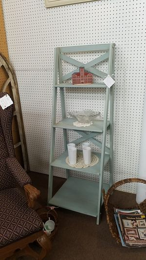 Duck egg blue shelving unit for Sale in Mesa, AZ