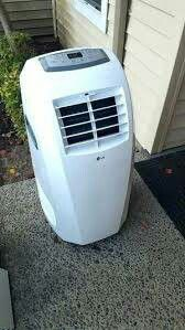 LG AC - 10,000 BTU Portable Air Conditioner + A/C Hose + Window Panel - for Sale in Vista, CA