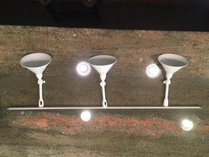 3 light chandelier, antique white. Never used new in the box. $90.00 new sell for $50.00 firm for Sale in Plain City, OH