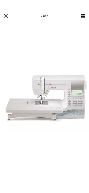 NEW Singer 9960 Quantum Stylist Electronic Sewing Machine for Sale in Rockville, MD