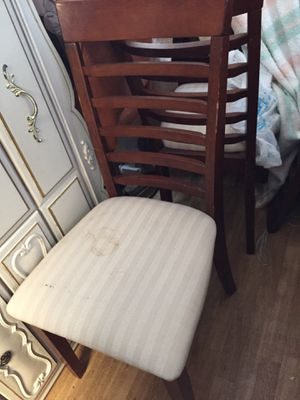 4 chairs for Sale in Palo Alto, CA