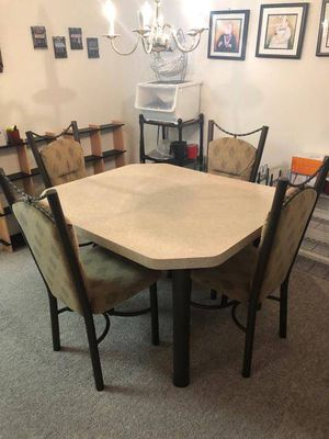 Table and 4 Chairs for Sale in Sykesville, MD
