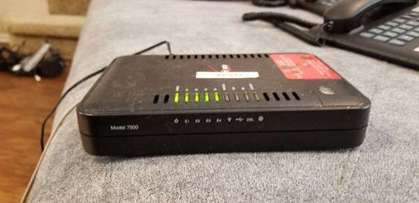 Routers (4) Verizon Westell VersaLink 7500 ADSL2 Modem Router