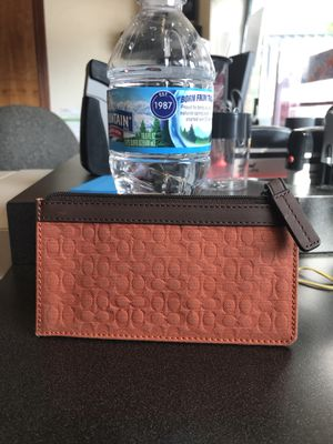 Coach wallet for Sale in Mooresville, IN