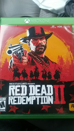 Red dead redemption 2 for xbox for Sale in Bunker Hill, WV