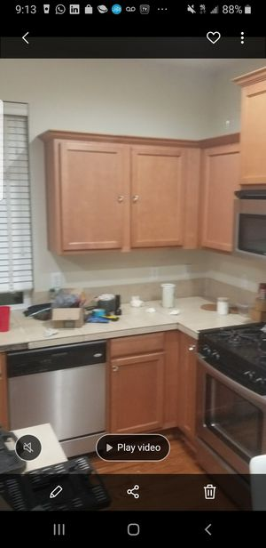 Full kitchen cabinets for sale. Appliances sale as well separately for Sale in Federal Way, WA