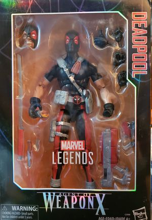 """Marvel Legends, DEADPOOL 12"""" -Agent Of Weapon X- Action Figure, Collectible for Sale in Wareham, MA"""