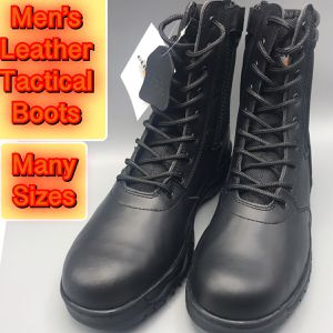 Tactical leather Upper Military, police work boots many sizes for Sale in Tinton Falls, NJ