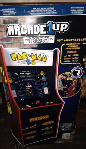 Pac Man At Home Arcade Game 40th Anniversary!!! for Sale in Camden, NJ