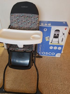 Cosco Simple Fold High Chair for Sale in Arlington, VA