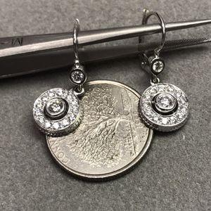 18Kt White gold diamond earrings for Sale in Baltimore, MD
