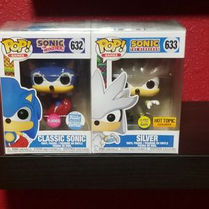 Sonic & Silver Funko Pop for Sale in Fort Worth, TX