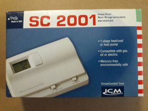 Electronic Thermostat SC 2001 for Sale in Kissimmee, FL