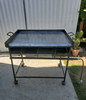 Plancha para taquizas/griddle grill for Sale in Nipomo, CA