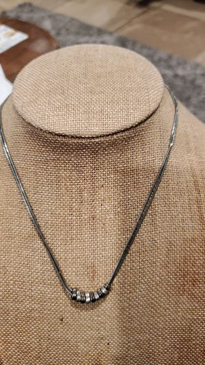 Ny&CO silvertone dainty necklace. for Sale in Westminster, CA